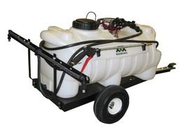 25 Gallon Trailer Sprayer with 1.8 GPM Shurflo Pump & Deluxe Gun 7 ft Boom - $470.40