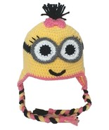 Buy Home Handmade Despicable Me Toddler Baby Minion Crochet Hat 4 Sizes (Adul... - $16.99