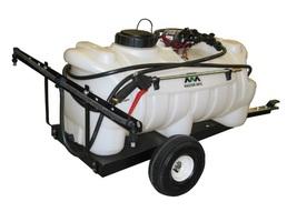 Pesticide 25 Gallon Trailer Sprayer with 1.8 GPM Shurflo Pump & 7' Boom - $395.45