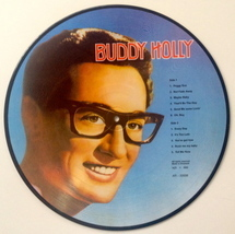 Buddy Holly Picture Disc LP Vinyl Record Album All Round Trading AR-300... - £20.52 GBP