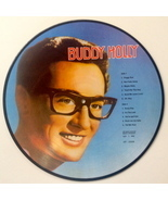 Buddy Holly Picture Disc LP Vinyl Record Album All Round Trading ‎AR-300... - $26.95