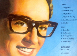 Buddy Holly Picture Disc LP Vinyl Record Album All Round Trading AR-30006 1982 image 2