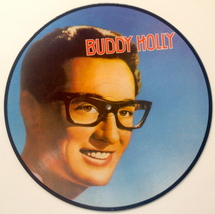 Buddy Holly Picture Disc LP Vinyl Record Album All Round Trading AR-30006 1982 image 3