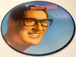 Buddy Holly Picture Disc LP Vinyl Record Album All Round Trading AR-30006 1982 image 5