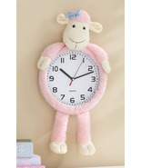 Pink Lucy Lamb Decorative Wall Clock - $21.95