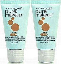 Maybelline Pure Makeup Foundation 2 CARAMEL (PACK OF 2 TUBES) [Misc.] - $29.39