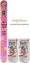 SALLY HANSEN Salon Effects Nail Polish Strips #580 TATTOO MUCH (PACK OF ... - $19.59