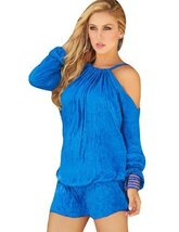 AM PM Women's Short and Stylish Dress - Blue/L [Apparel] - $46.00