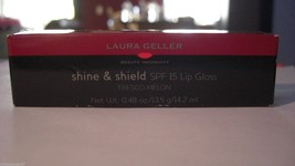 Laura Geller Shine Shield SPF 15lip gloss Fresco Melon .48 oz - $8.99