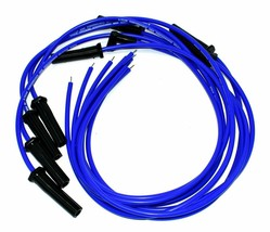 8.0mm Blue Silicone High Performance Spark Plug Wire Set Universal Fit V8 V6 image 2