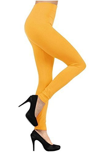 Primary image for Fashionmic Women Winter Soft Fleece Lined Legging - Many Colors (Mustard)