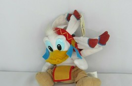 Disney Bean Bag Plush - FRONTIERLAND DONALD (9 inch) - Mint w/Tag - $10.23