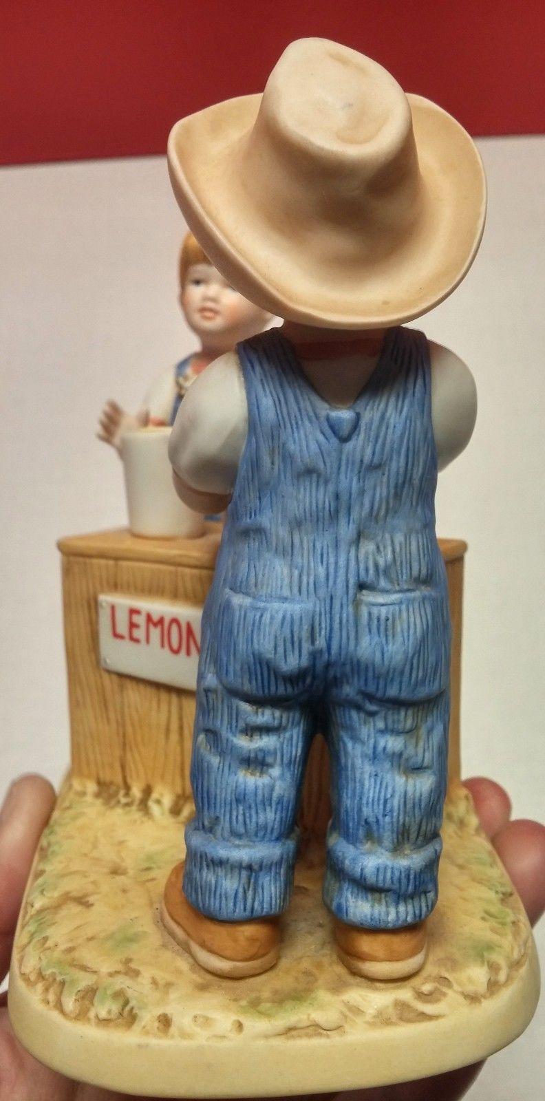 Homco Denim Days Fresh Lemonade Home Interiors Porcelain