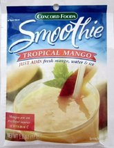 Concord Tropical Mango Smoothie Mix, 6 (SIX) 1.... - $19.99