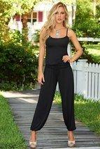 AM:PM By Espiral Women's Fashion Spaghetti Strap Loose Casual Jumpsuit, Black... - $51.95