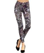 Lady's Space Craft Printed Leggings [Apparel] - $17.53