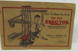 The New Erector Toy Set Book - $24.50