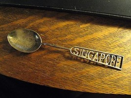 Singapore Spoon -  Vintage 1960's Island Country City State Souvenir Col... - $19.78