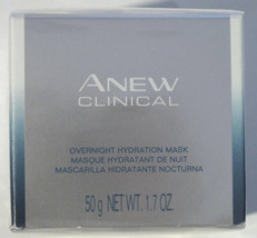 Avon Anew Clinical Overnight Hydration Mask 1.7 oz All Skin Types, Dermo... - $25.47