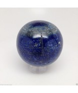 608 Grams 100% Natural Lapis Lazuli Crystal Sphere from Afghanistan E0003 - $60.80