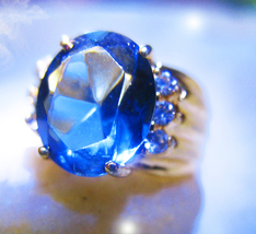 HAUNTED RING 5000X MAGNIFICENT MASTERY OF WEALTH ROYAL MAGICK MYSTICAL T... - $129,007.77