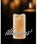"Illusions3 Flameless Candle - 4"" x 6"" Class with Moving Lighted Wick [Ki... - $29.70"
