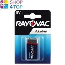 Rayovac Alkaline 6LR61 Battery 9V E Block MN1604 Transistor 6AM6 Exp 2023 New - $3.36