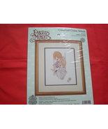PRECIOUS MOMENTS COUNTED CROSS STITCH.KIT. LOVE IS KIND. NEW. - $9.99