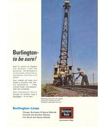 1946 Burlington Route Railroad Welding Service print ad - $10.00