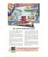 1946 GM Electro-Motive Diesel Locomotives Train print ad - $10.00