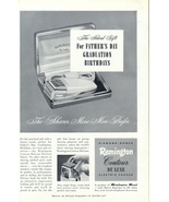 1950 Remington Contour Electric Shaver Ideal Gift print ad - $10.00