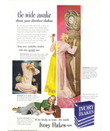 1948 Ivory Flakes Soap tall London clock print ad - $10.00