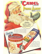 1946 Camel Cigarette Smoking Tobacco Christmas print ad - $10.00