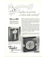 1932 Taylor Instruments Humidity & Storm guide print ad - $10.00