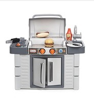 Barbeque Little Tikes Cook 'n Grow BBQ Grill Indoor Outdoor Playset Summ... - $66.39