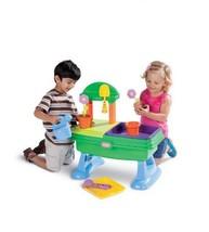 Little Tikes Garden Table Child Training Indoor Outdoor Flower Pot Tray ... - $89.09