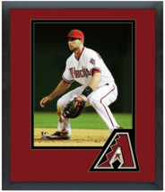 Paul Goldschmidt 2015 Arizona Diamondbacks-11 x 14 Team Logo Matted/Framed Photo - $43.55