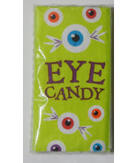 Swankie Hankies Pocket/Purse FacialTissues Eye Candy Halloween Ophthalmo... - $2.25