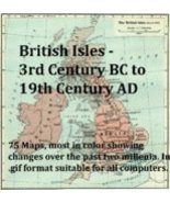 Historic Map Library British Isles 3rd Century BC to 19th Century AD CD-ROM - $19.99