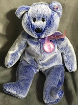 TY Beanie Baby ~ Periwinkle the Bear ~ 6th Generation ~ Retired ~ 2000 Gift B54 - $9.79
