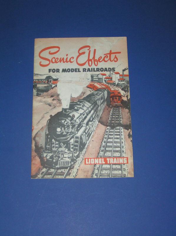 1946 scenic effects for model railroads lionel trains
