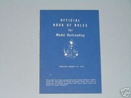 1952 LIONEL OFFICIAL BOOK OF RULES - $24.99
