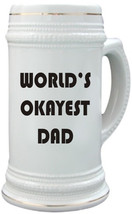 World's Okayest Dad stein / mug - $13.99