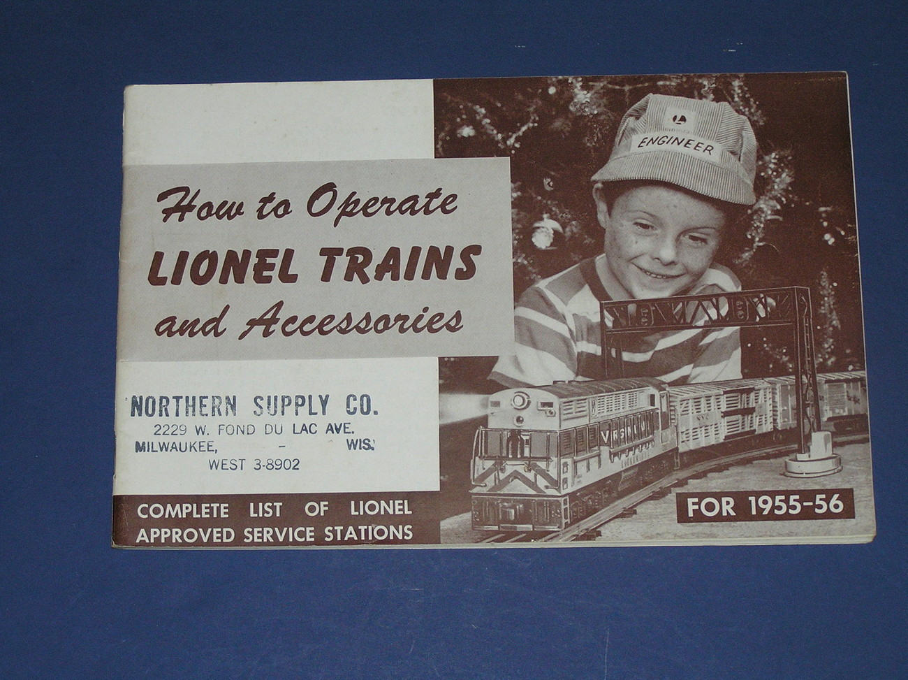 1955-56 HOW TO OPERATE LIONEL TRAINS AND ACCESSORIES