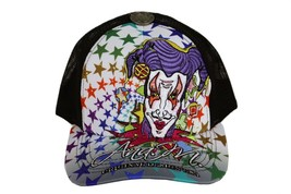 BRAND NEW EMBROIDERED COLORFUL JOKER ADJUSTABLE HAT CAP SNAPBACK BLACK ONE SIZE