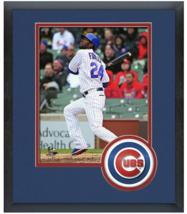Dexter Fowler 2015 Chicago Cubs - 11 x 14 Team Logo Matted/Framed Photo - $42.95
