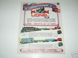 1970 LIONEL  MPC  CONSUMER CATALOG- CASE NEW - $8.95