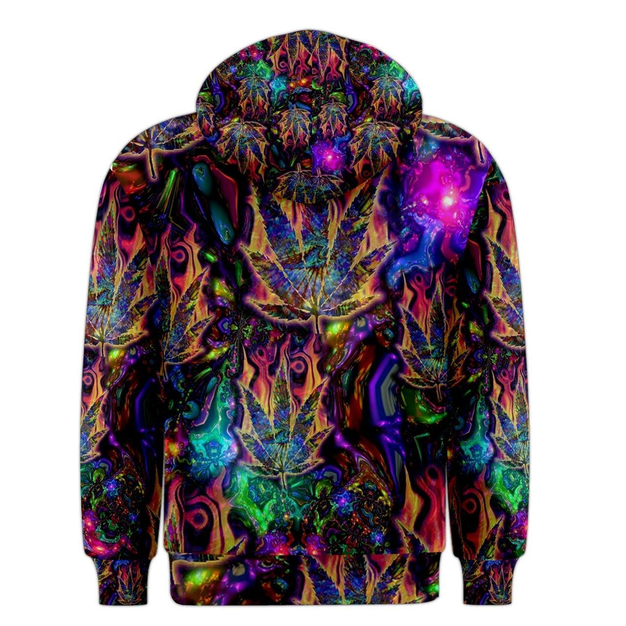Psychedelic hoodie