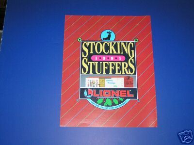 1991 LIONEL STOCKING STUFFERS