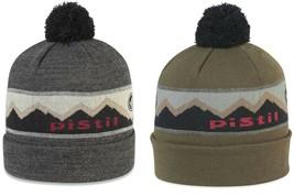 Pistil Designs Men's Wy'east Nylon Blend Beanie, Cap, Hat with Pompom  - $29.99